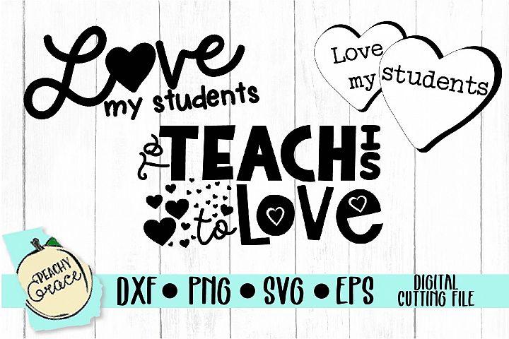 Teacher Valentines Mini Bundle