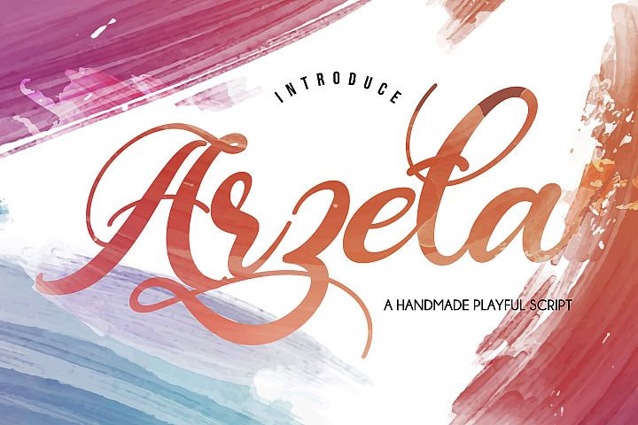 Arzeta | Handmade Playful Script