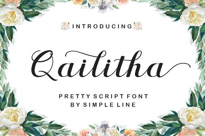 Qailitha Script