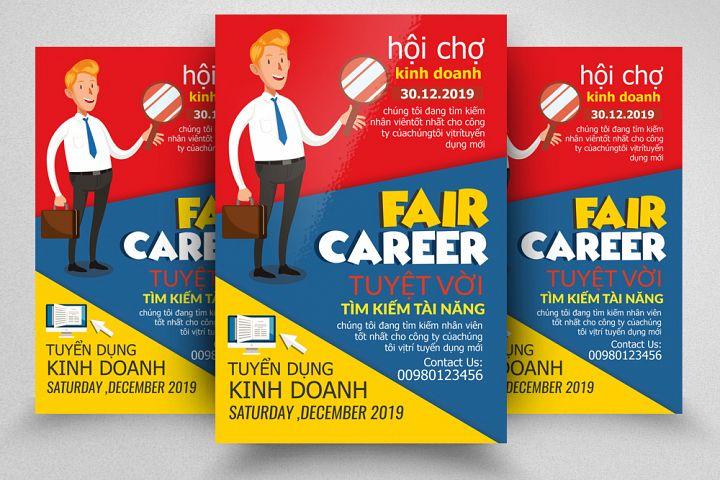 Job Fair & Career Flyer/Poster Template