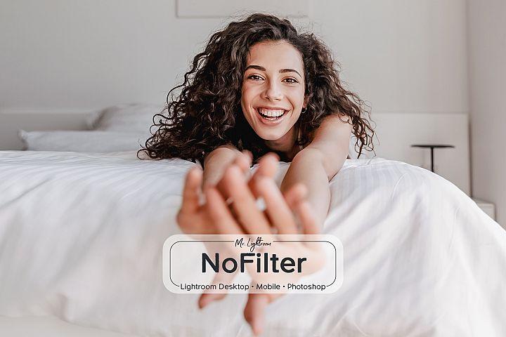 NoFilter Lightroom Desktop and Mobile Presets