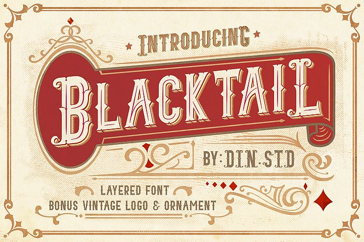 Blacktail Font -INTROSALE 25
