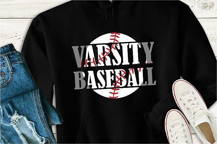 Varsity Baseball SVG, Baseball Is Life Sublimation