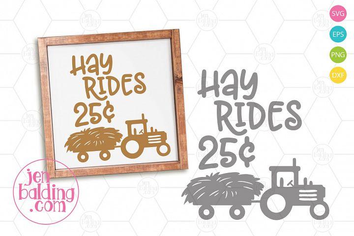 Hay Ride SVG