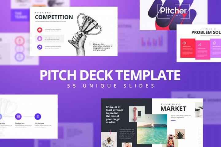 Pitch Deck Keynote Presentation template