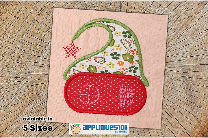 Hat House Cartoon Machine Embroidery Applique Design- Houses