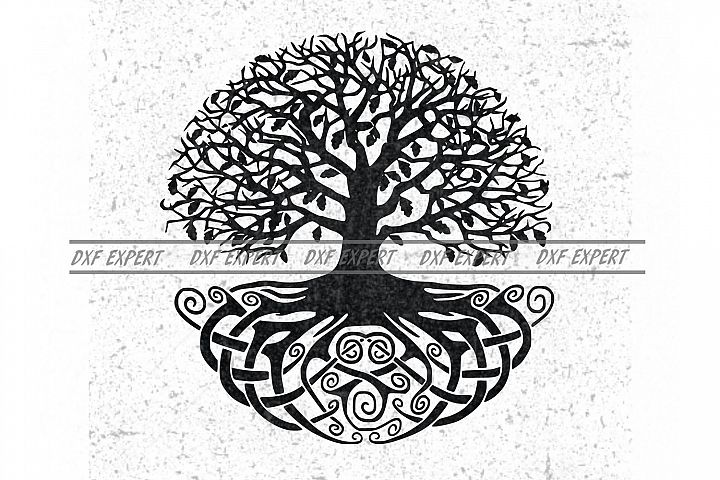 Tree of Life Silhouettes AI EPS Vector & PNG,SVG
