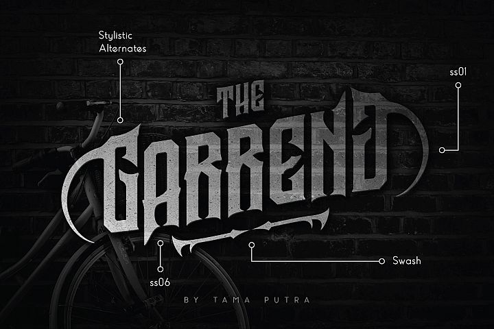 Garreng Decorative Serif Typeface
