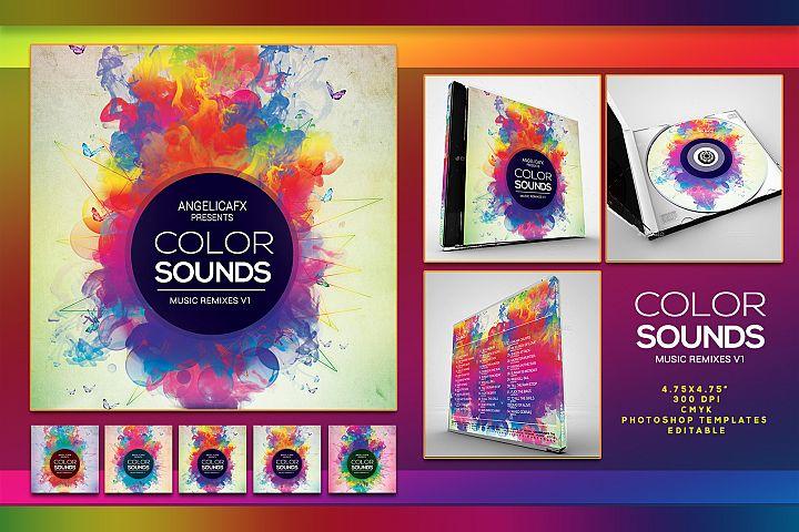 Color Sounds Music Remixes CD/DVD