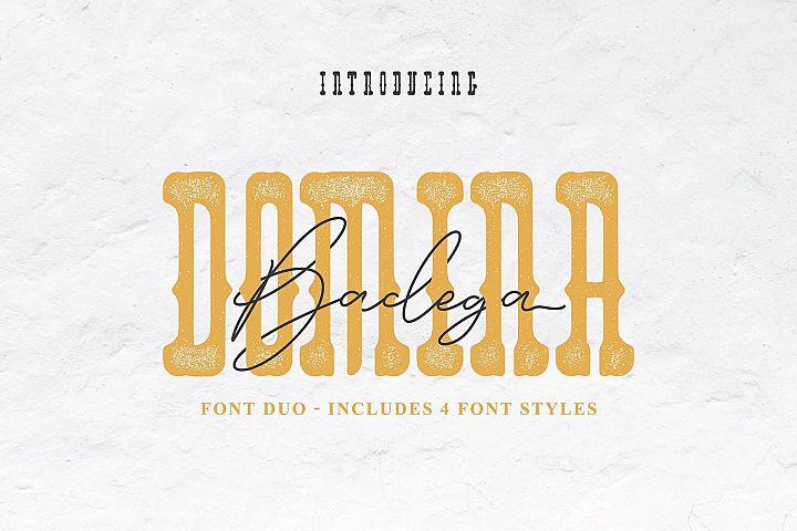 Domina Font Duo