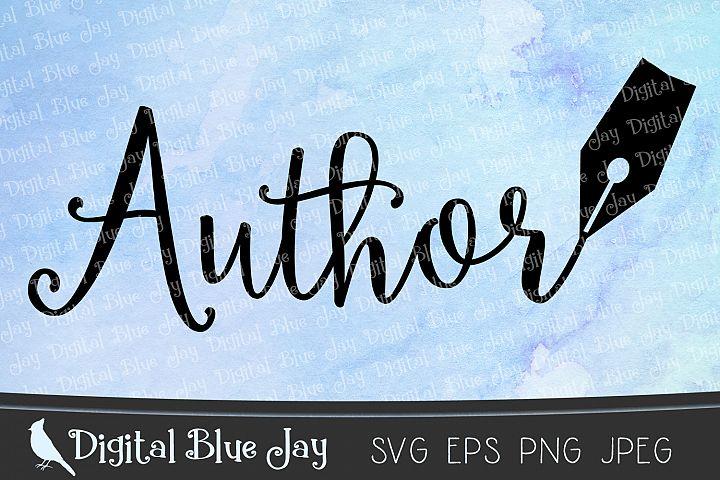Author Pen Nib SVG PNG Cut Files