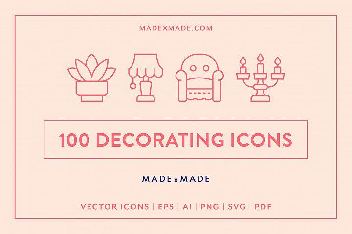 Line Icons - Decorating