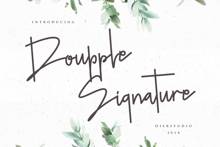 Doupple Signature
