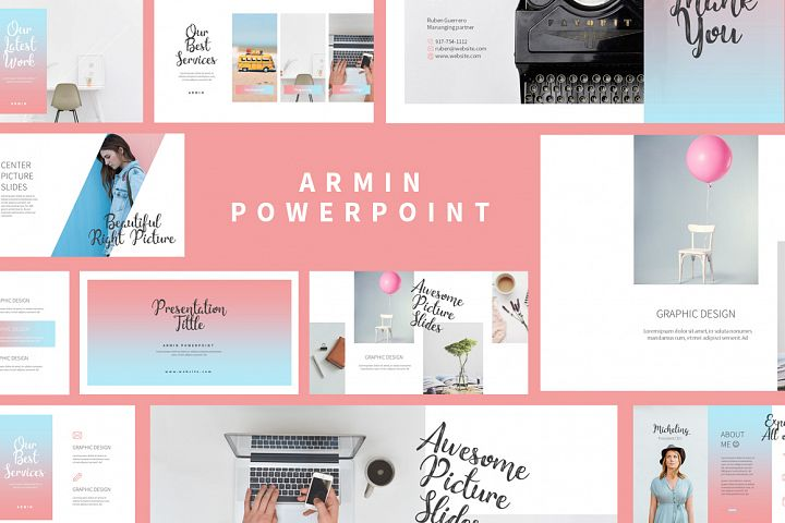 Armin Lookbook Presentation
