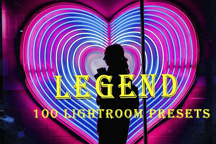 100 Legend Lightroom Presets