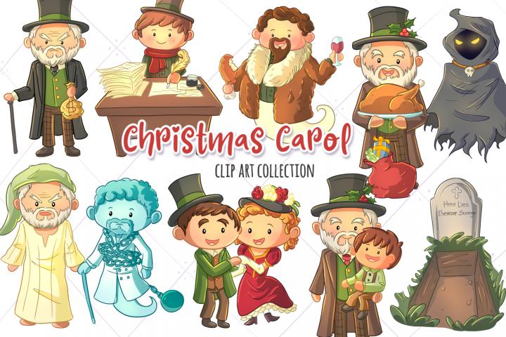 A Christmas Carol Clip Art Collection