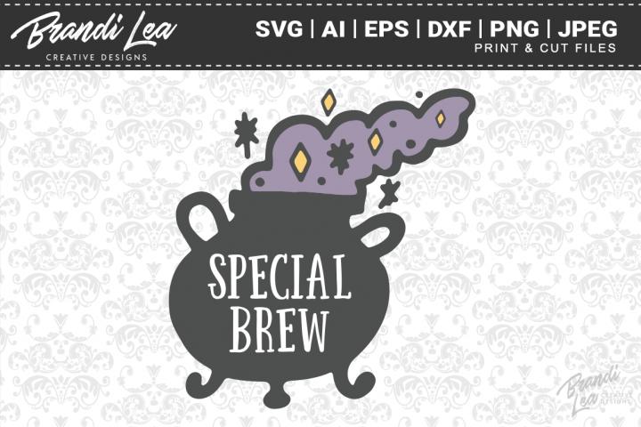 Special Brew Cauldron SVG Cutting Files