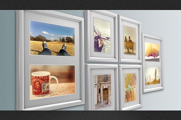 3D Photo Frame Mockups