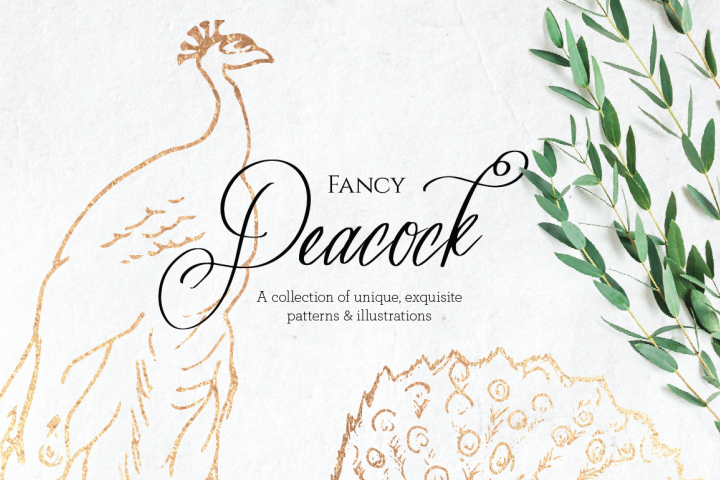 Fancy Peacock Collection