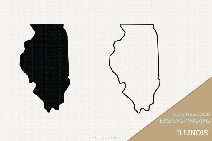 Illinois Vector / Clip Art