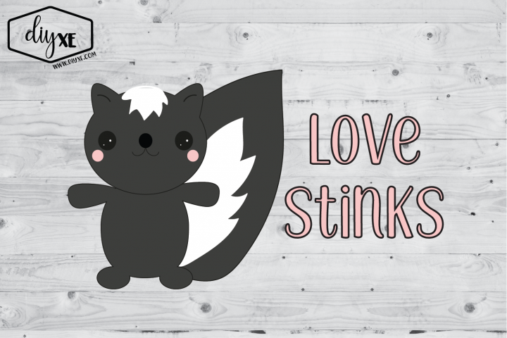 Love Stinks - A Valentines Day Sublimation Graphic