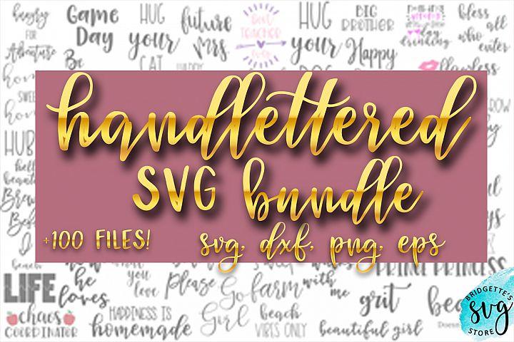 Bundle Handlettered SVG New Bundle