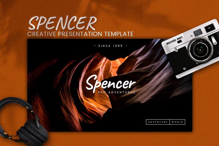 Spencer - Creative Google Slides Template