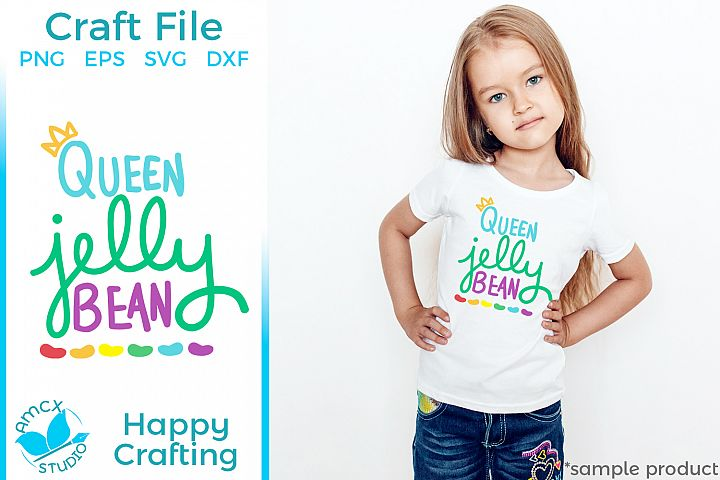 Queen Jelly Bean - Easter Craft File