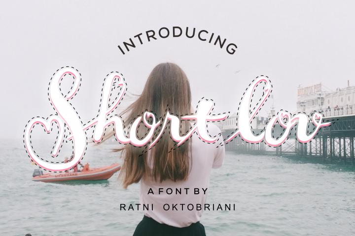 Short Lov - A Script Font