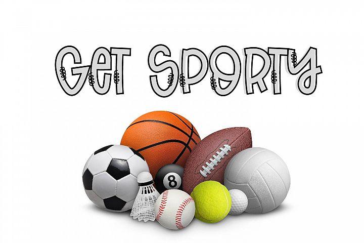 Slemurs - A Sporty Eight Font Mix & Match Bundle example image 5