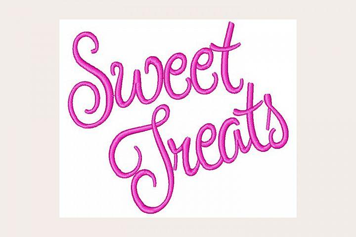Sweet Treats - Machine Embroidery Design