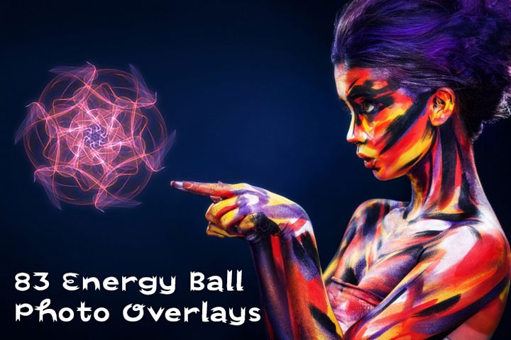 83 Energy Ball Photo Overlays