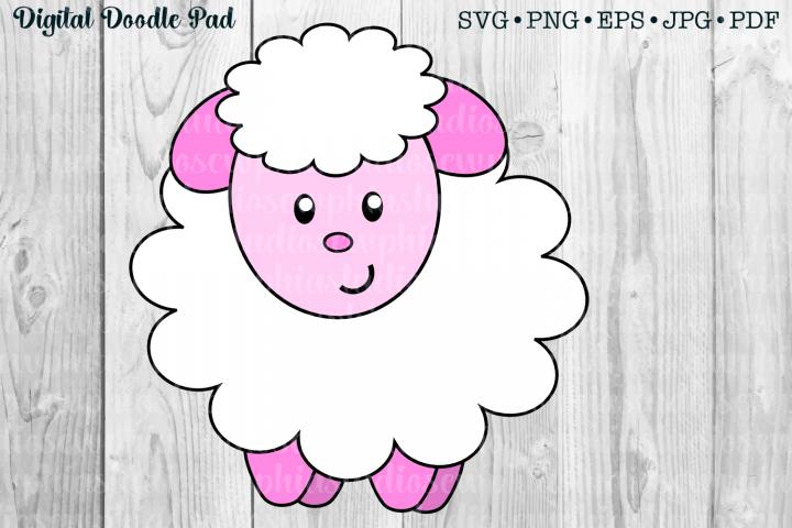 Little Lamb by Digital Doodle Pad