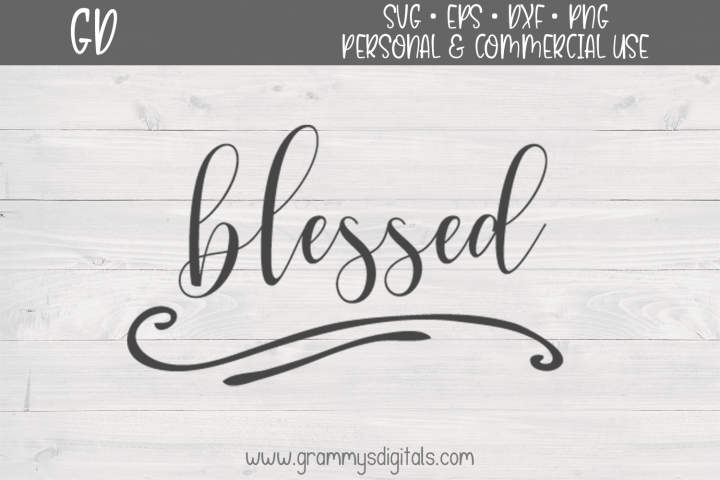 Blessed Quote SVG File