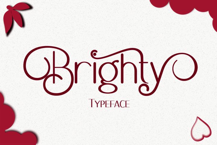 Brighty Sans Script