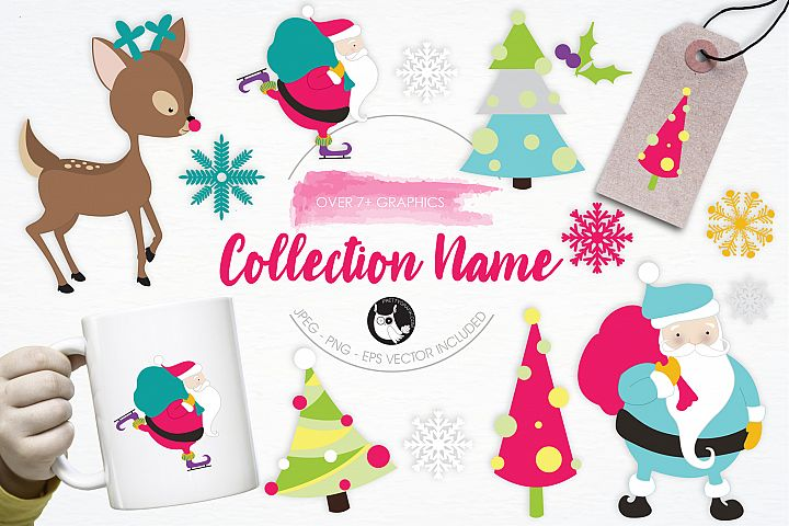 Collection Name graphics and illustrations
