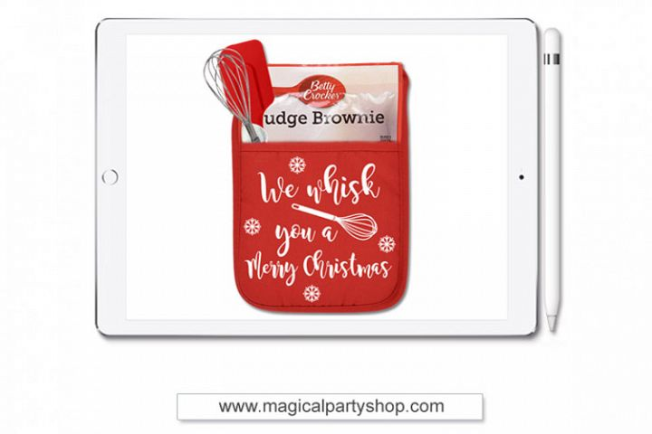 We Whisk You A Merry Christmas Svg Cut File