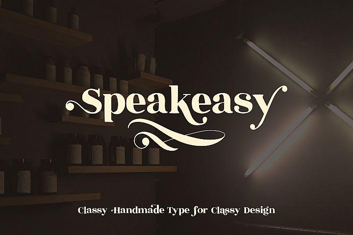 Speakeasy | A Classy Serif