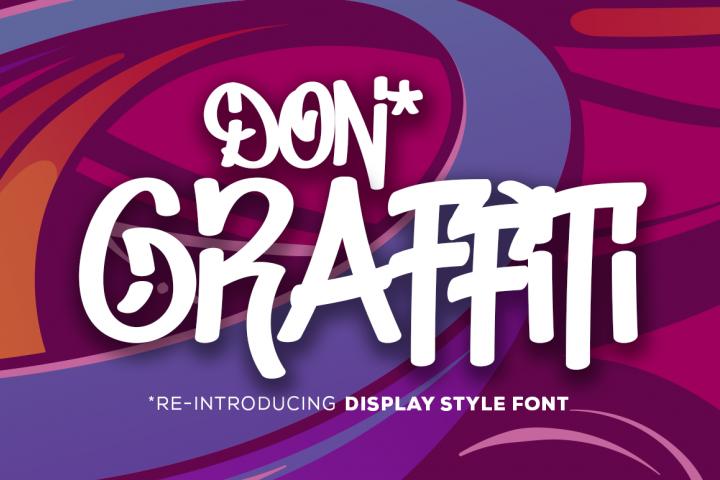 Don Graffiti Urban Style Font