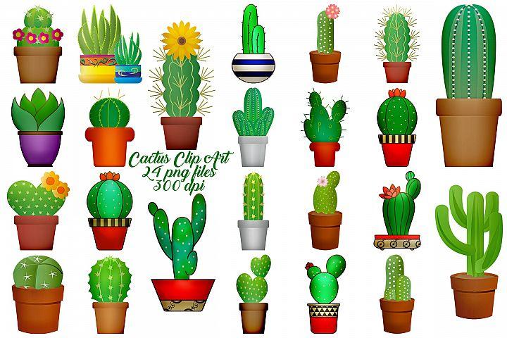 Cactus Illustrations Clip Art