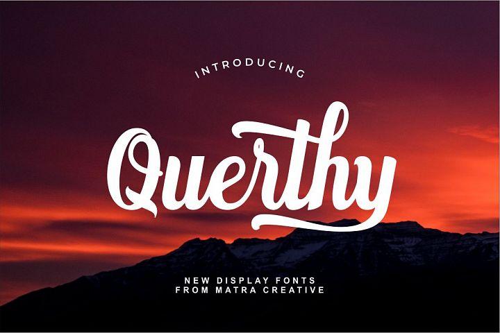 Querthy Script