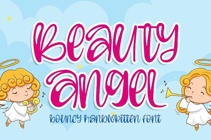 Beauty Angel - Bouncy Handwritten Font