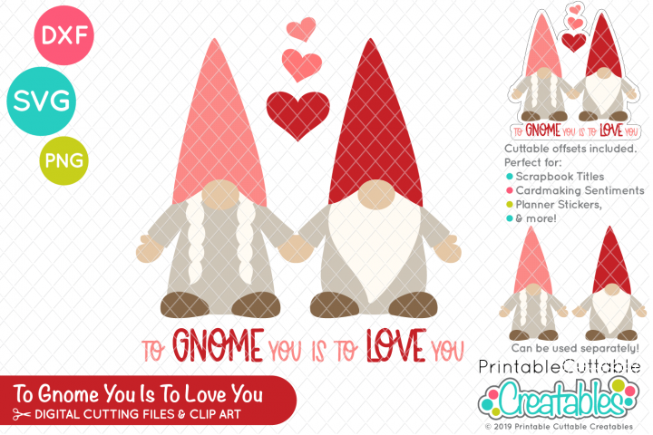 To Gnome You is to Love You SVG