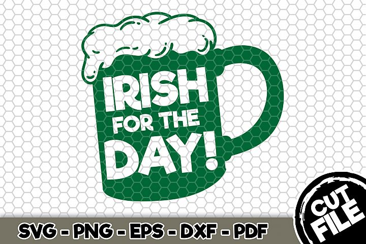 Irish For The Day! - SVG Cut File n178