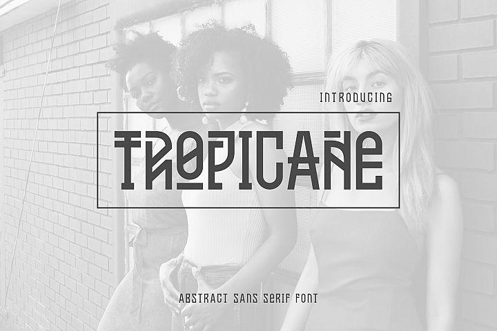Tropicane Tyepface
