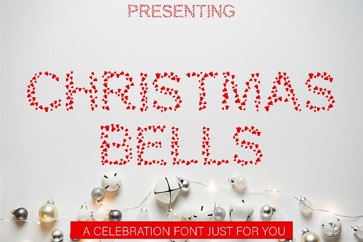 Christmas Bells Font - A Fun & Cute Christmas Font