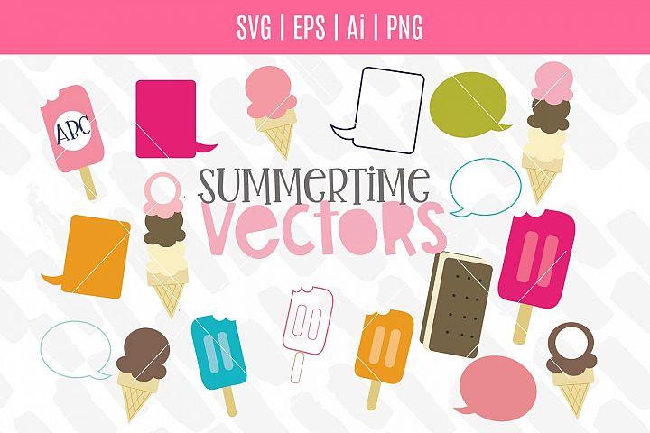 Summertime Vector Bundle