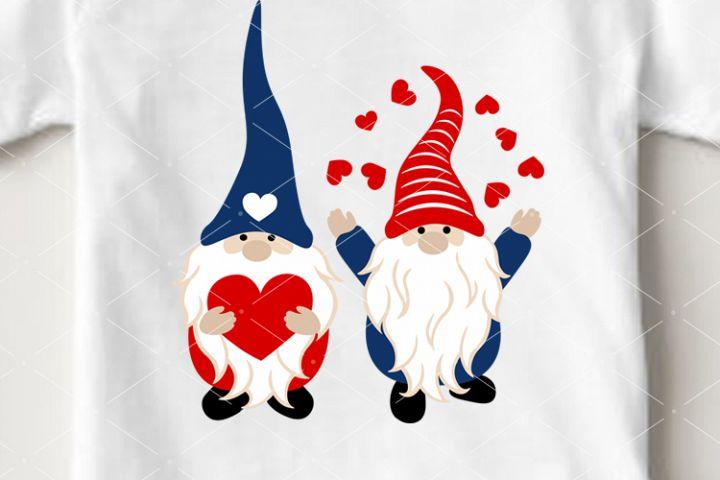 Gnomes svg Valentines day decor Cute Gnomies png Cricut