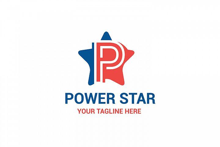 P letter Star logo