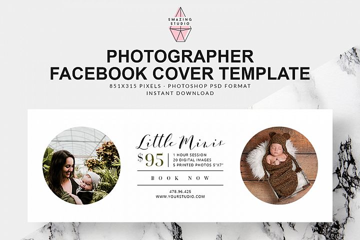Photographer Facebook Cover Template - FBC002